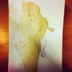 Coffee Stain Art